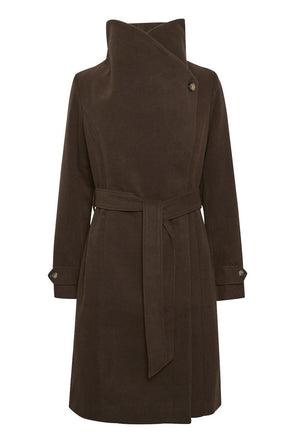manteau- soaked in luxury- canasta- chocolat- noir