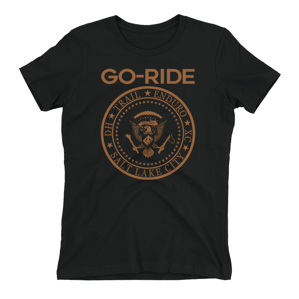 "Go-Ride ""Ramones"" Women's Tee"