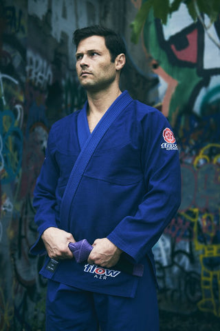 Flow Kimonos BJJ Gi Air - Blue