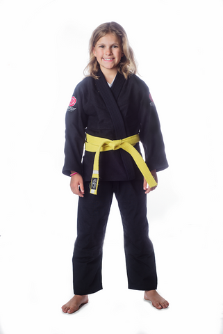 Flow Kimonos Kids Competition Gi Black