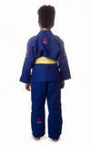 Flow Kimonos Kids Competition Gi Blue
