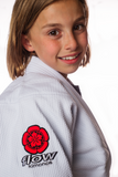 Flow Kimonos Kids Competition Gi White