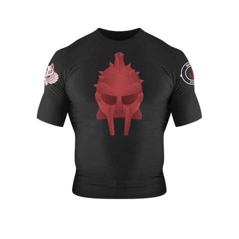 War Tribe Gladiator Kids Rash Guard