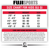 FUJI Sports BJJ Kids White Belt