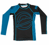 Fuji Drillers Kid's Rashguard Blue