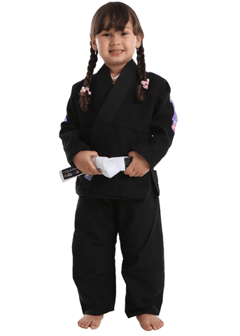 Vulkan Pro Light Kids Jiu Jitsu Gi Black/ Lilac