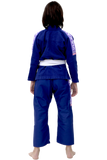 Vulkan Pro Light Kids Jiu Jitsu Gi Blue / Lilac