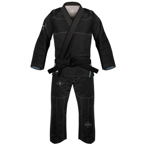 War Tribe Men's Lionheart Gi Black