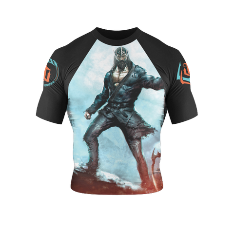 War Tribe Kids Poseidon Rash Guard