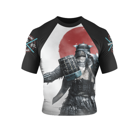 War Tribe Kids Samurai Rash Guard