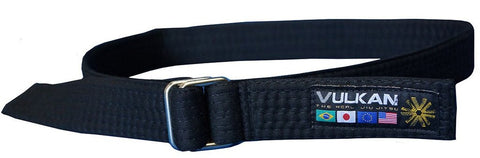 Vulkan Street Wear Jiu Jitsu Belt Black