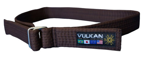 Vulkan Street Wear Jiu Jitsu Belt Brown