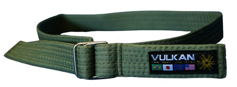 Vulkan Street Wear Jiu Jitsu Belt Green