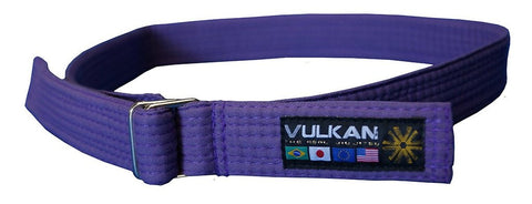 Vulkan Street Wear Jiu Jitsu Belt Purple