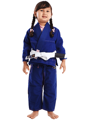 Vulkan Ultra Light Kids Jiu-Jitsu Gi Blue/Pink