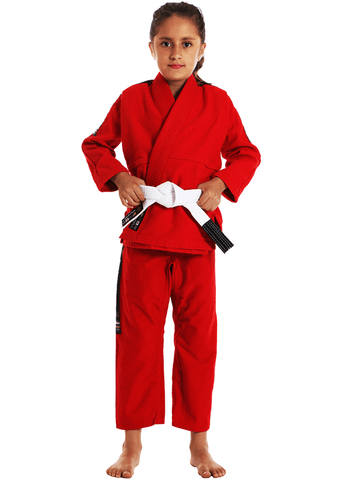 Vulkan Ultra Light Kids Jiu-Jitsu Gi Red