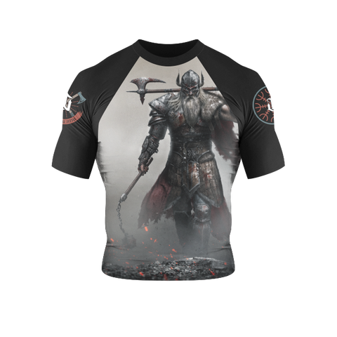 War Tribe Kids Viking Rash Guard