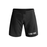 War Tribe Kids BJJ Grappling Short Competition Standard - Black