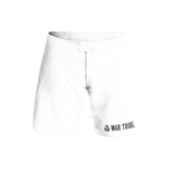 War Tribe Kids BJJ Grappling Short Competition Standard - White