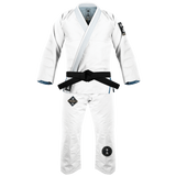 War Tribe Kids Samurai Dynasty Gi White