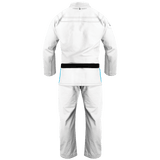 War Tribe Kids Fiercely Feminine Jiu Jitsu Gi - White