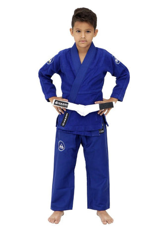 Vulkan Ultra Light NEO Kids BJJ Gi - Blue