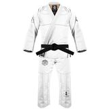 War Tribe Kid's Strategy Gi White