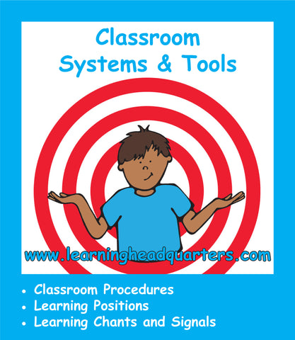 First Grade: Classroom Systems & Tools