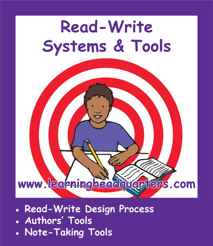 First Grade: Read-Write Systems & Tools