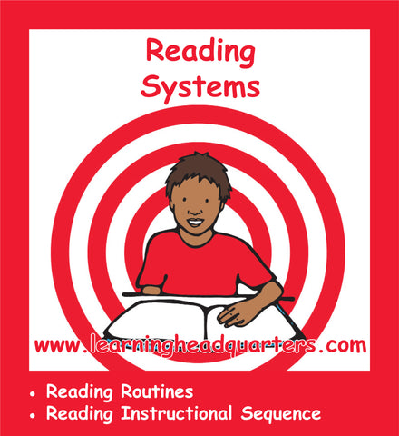 Kindergarten: Reading Systems