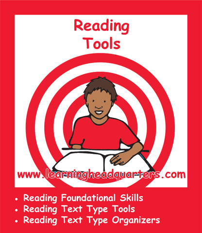 Kindergarten: Reading Tools