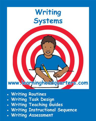 First Grade: Writing Systems
