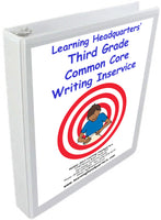 3: Common Core Writing Inservice Kit (2014 release)
