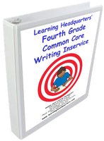 4: Common Core Writing Inservice Kit (2014 release)