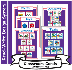 4: Read-Write Genre Sheets - Card Set
