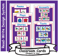 3: Read-Write Genre Sheets - Card Set