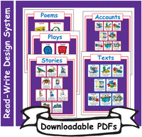 2: Read-Write Genre Sheets - Downloadable PDFs