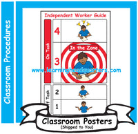 6: Independent Worker Guide - Poster Set