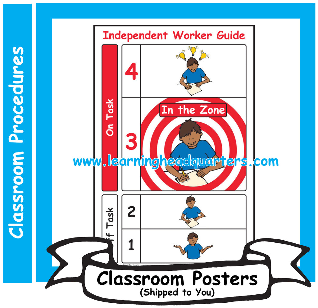 4: Independent Worker Guide - Poster Set