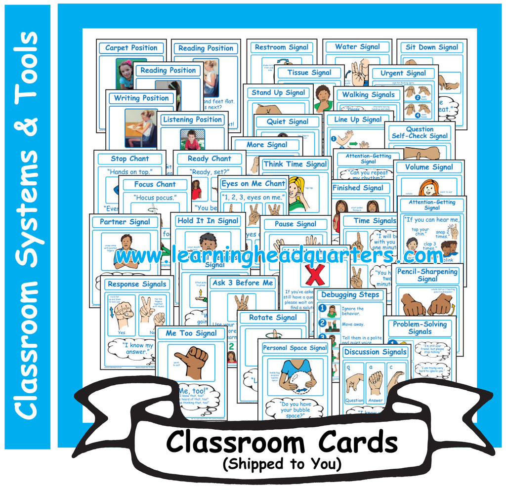 5: Learning Positions, Chants, and Signals - Card Set