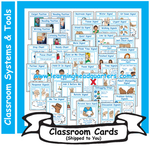 3: Learning Positions, Chants, and Signals - Card Set