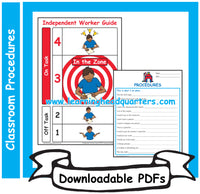 1: Classroom Procedures - Downloadable PDFs