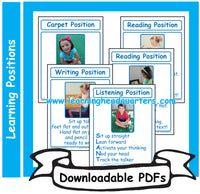 3: Learning Positions - Downloadable PDFs