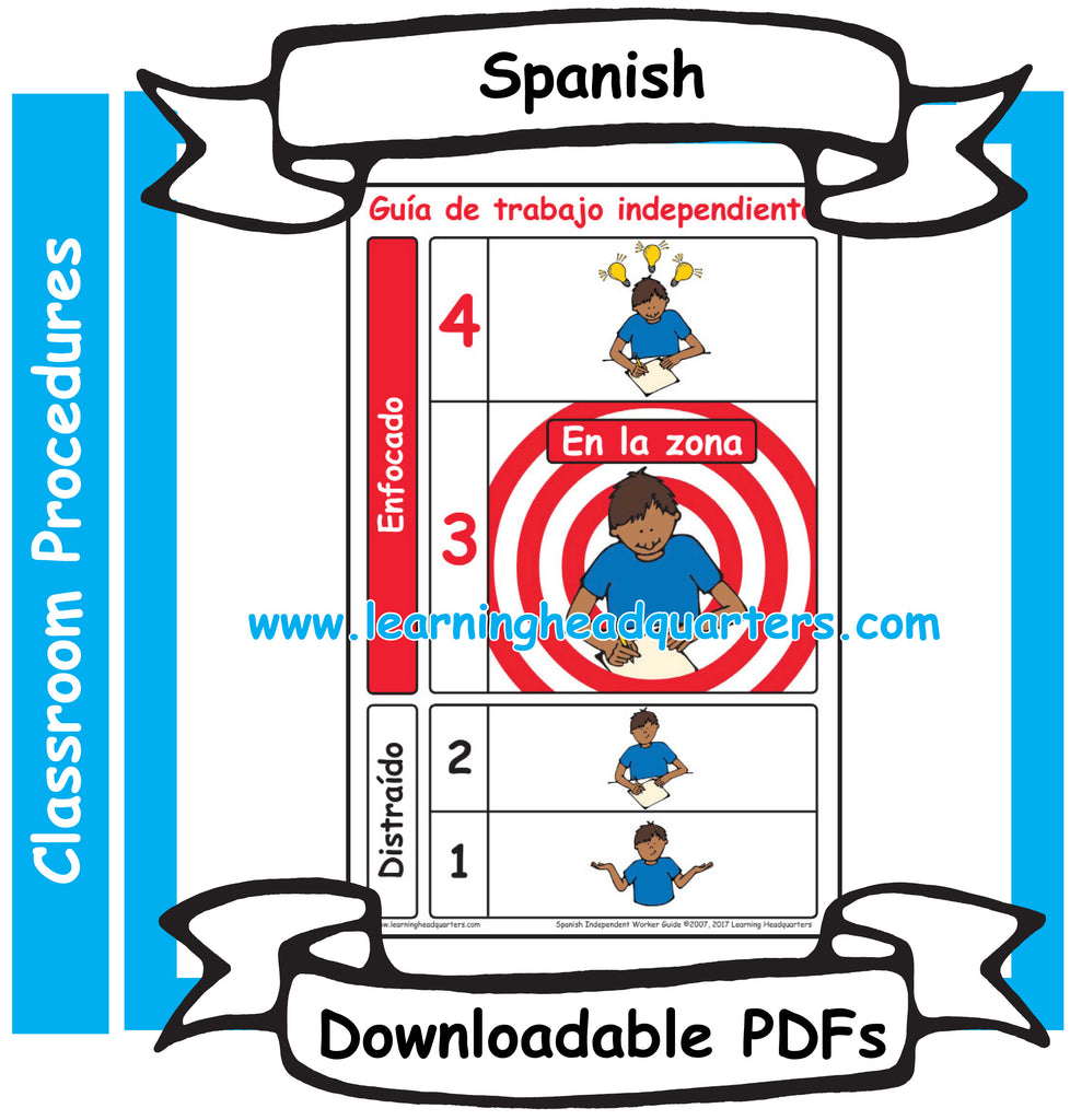 3: Independent Worker Guide - Downloadable PDF (SPANISH)