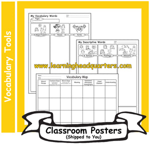 5: Vocabulary Tools - Poster Set