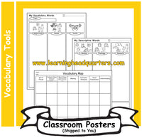 4: Vocabulary Tools - Poster Set