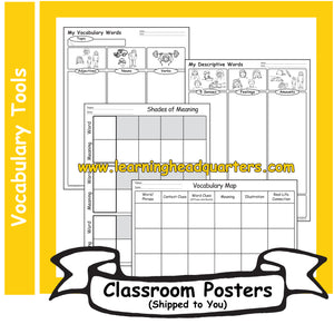 2: Vocabulary Tools - Poster Set