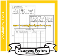 6: Vocabulary Tools - Poster Set