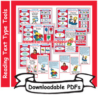 1: Reading Text Type Tools - Downloadable PDFs