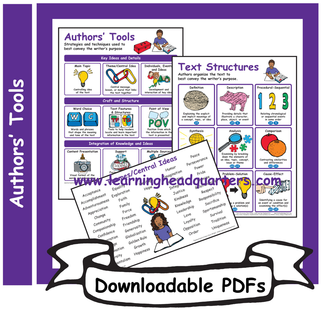 5: Authors' Tools - Downloadable PDFs